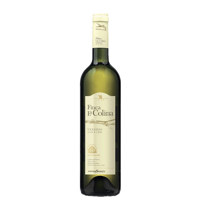 Bouteille de Vin blanc espagnol Finca la Colina 2017 - Bodega Vinos Sanz - AOC Rueda