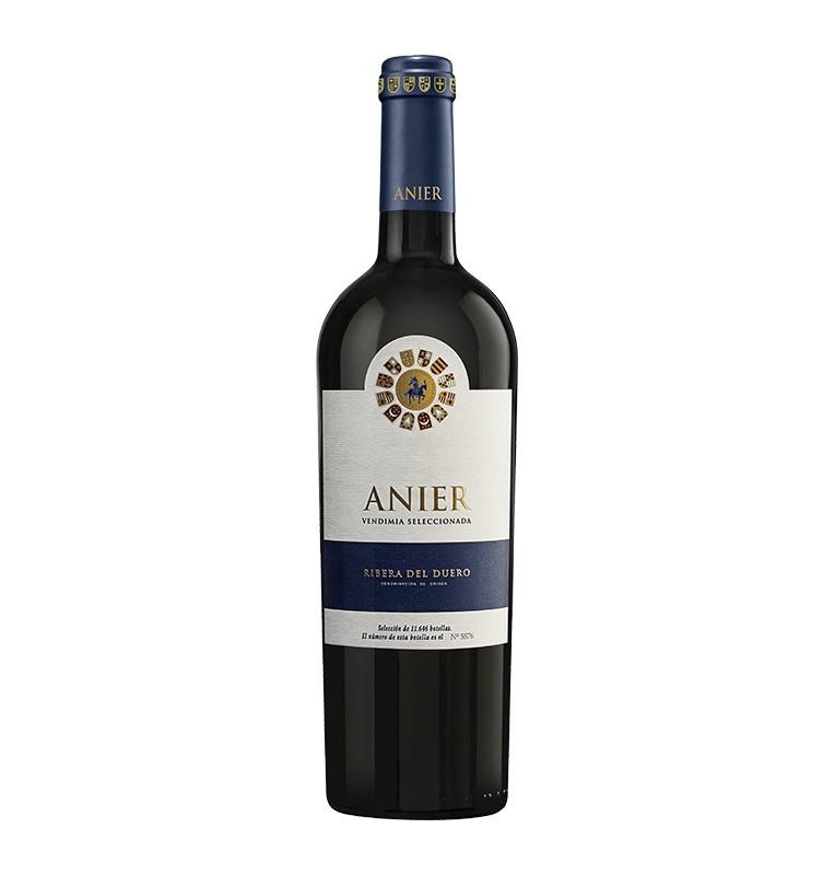 Bouteille de Vin rouge espagnol Anier de Vinos y Bodegas Gormaz - AOC Ribera del Duero