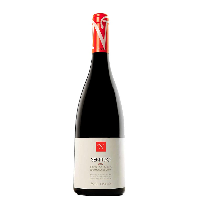 Bouteille de vin rouge crianza Sentido 2015, appellation Ribera del Duero de Bodegas Neo