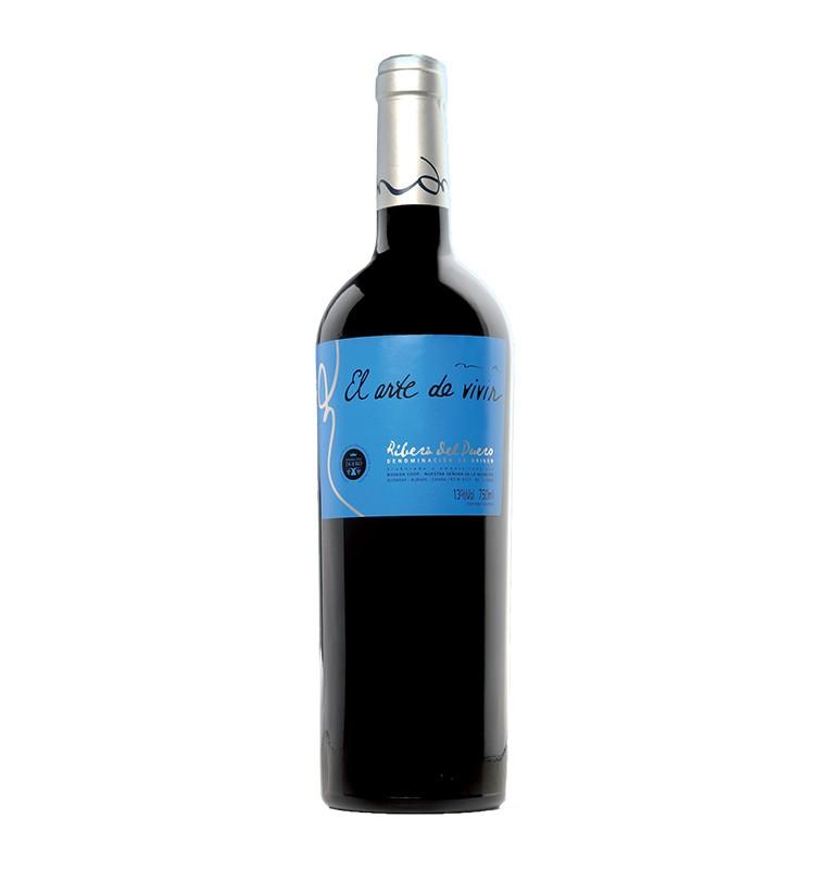 Bouteille de vin rouge espagnol El Arte de Vivir de Bodegas Neo, AOC Ribera del Duero
