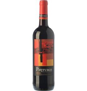 Bouteille de vin rouge espagnol Pinturas de Bodegas Obalo, AOC Rioja