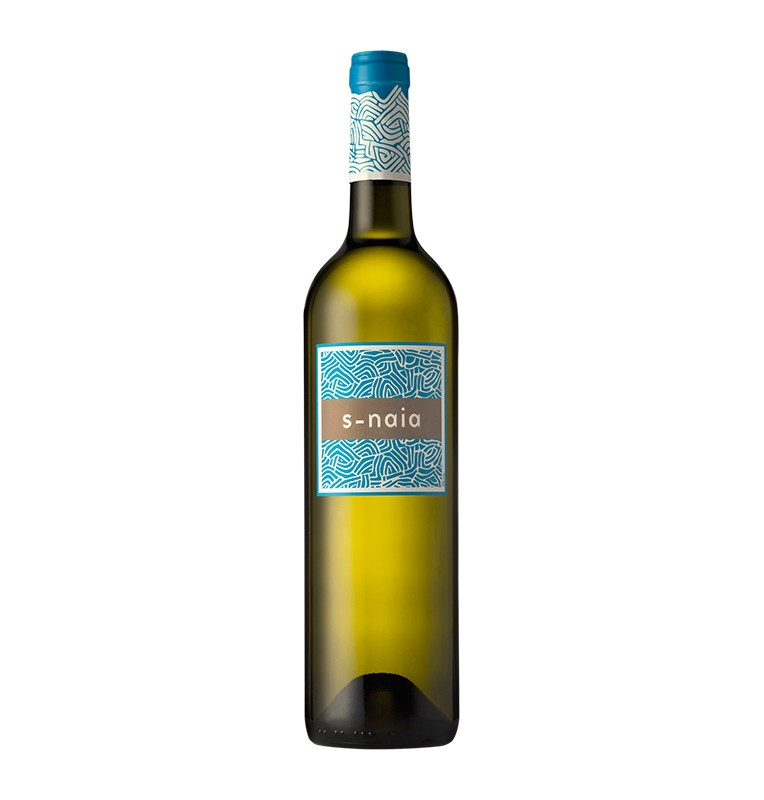 Bouteille de vin blanc espagnol S-Naia de Bodegas Naia, AOC Rueda