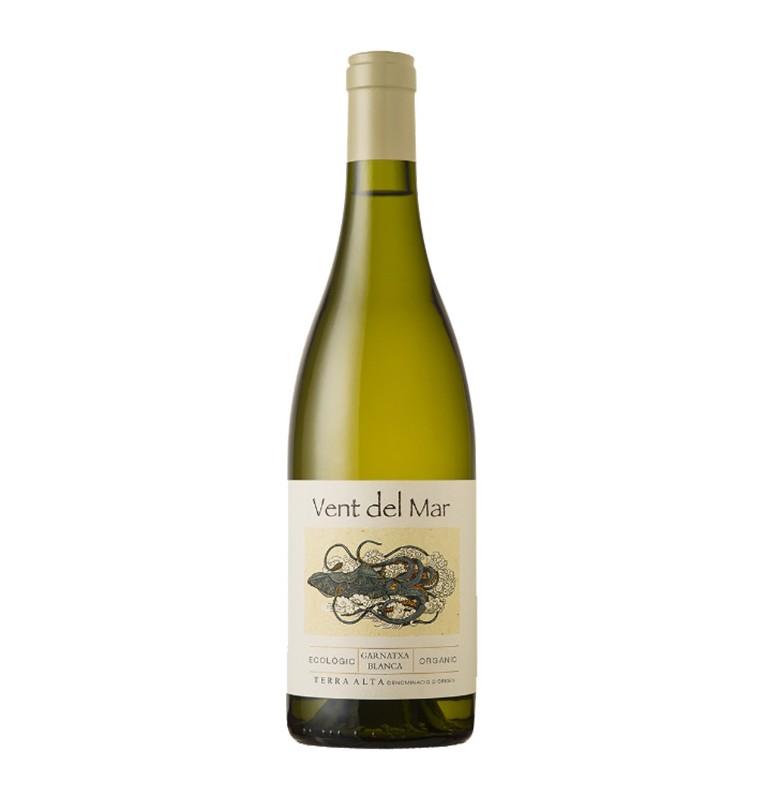 Bouteille de vin blanc bio Vent del mar blanc 2019 de Bodegas Herencia Altes