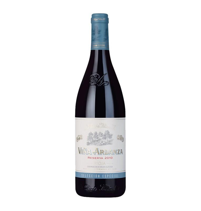 Bouteille de Vin rouge espagnol Viña Ardanza reserva 2010 de La Rioja Alta - AOC Rioja