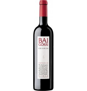 Bouteille de vin rouge Baigorri crianza 2016, appellation Rioja de Bodegas Baigorri