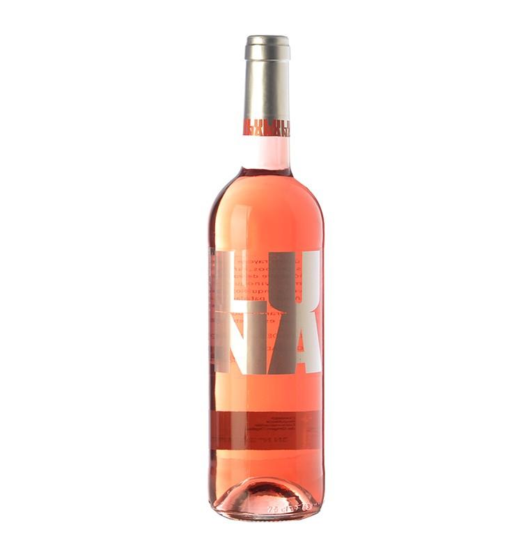 Bouteille de vin rosé espagnol Clarete de Luna de bodegas Cesar Principe, AOC Cigales