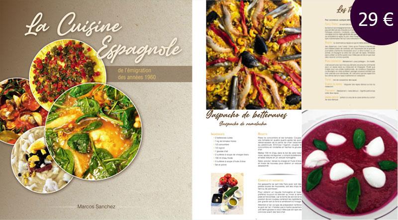 Livre de recettes - La cuisine espagnole de l'émigration