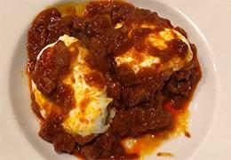 Œufs et tomates brouillés de Murcie - Revuelto de huevo y tomate murciano